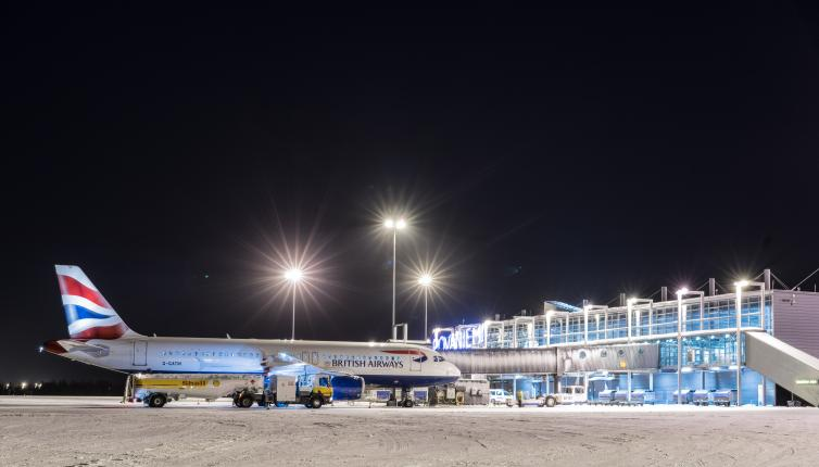 British Airways at Rovaniemi Airport