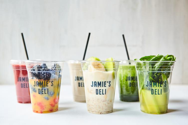 Jamies Deli smoothies