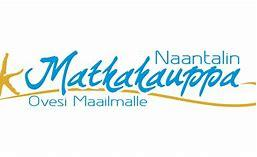 The logo of Naantalin matkakauppa.