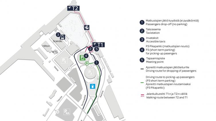 Liikennejärjestelyt Helsinki