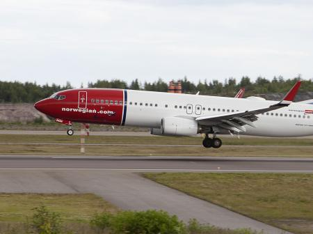 Norwegian at Helsinki Airport