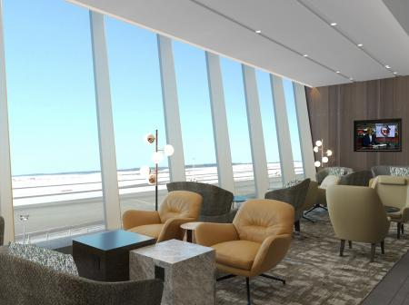 Plaza Premium Lounge Relaxing area