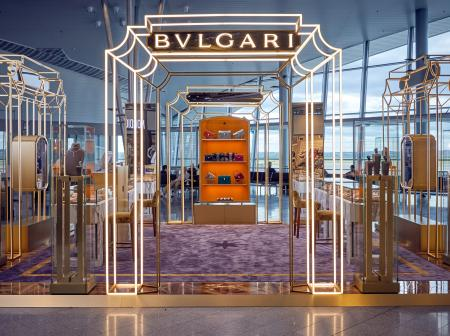 Bulgari pop-up in Helsinki Airport