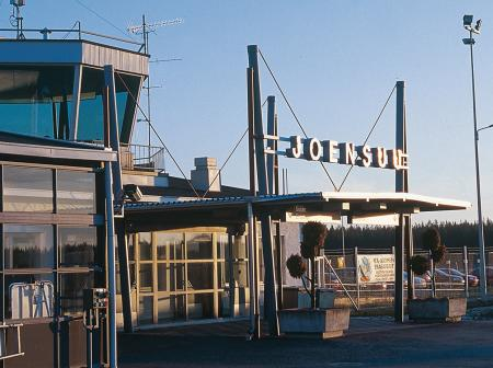 An airport at Joensuu.