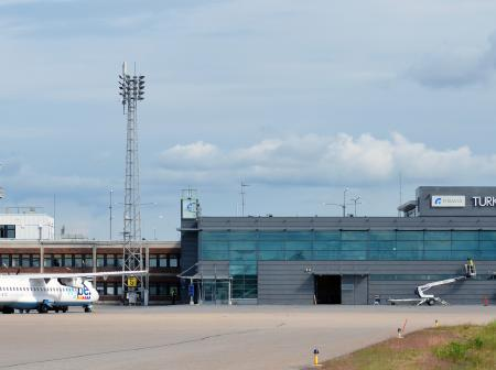 An image of Turku airport.