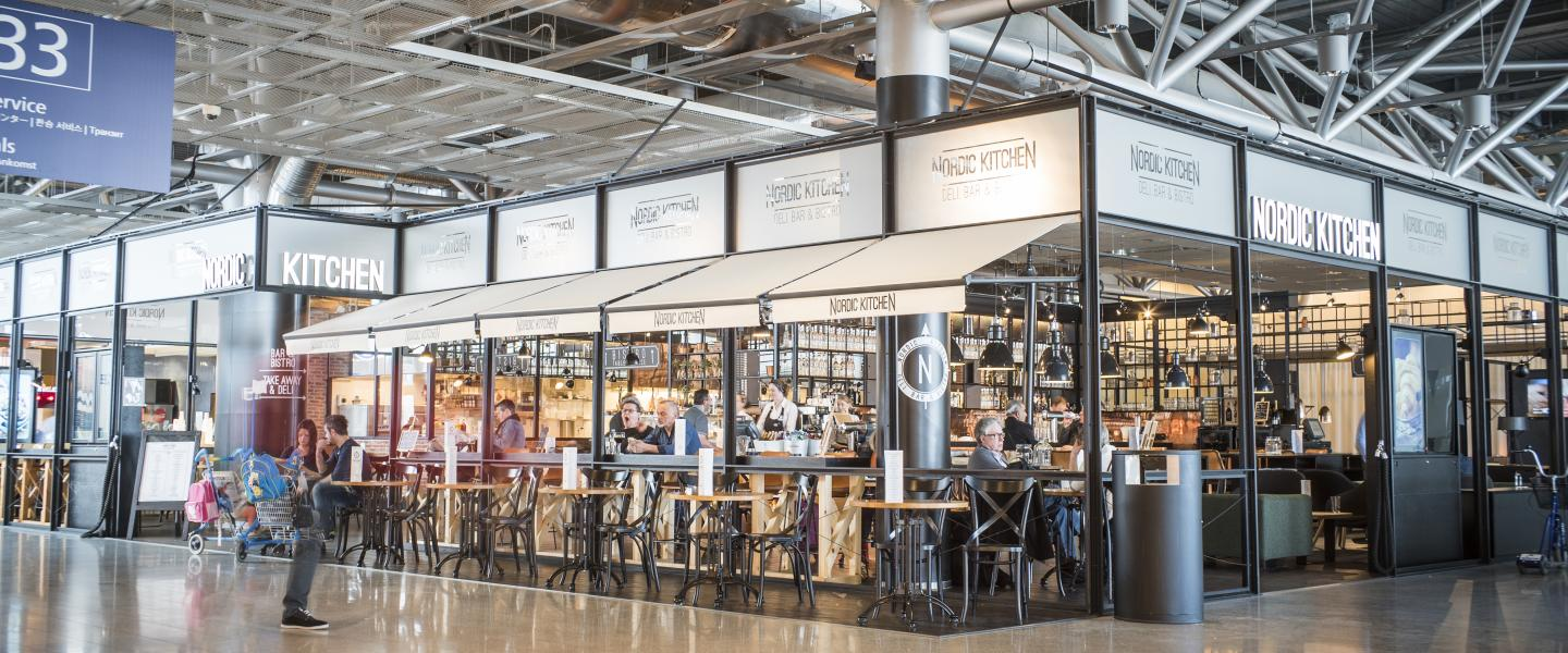 Restaurant Nordic Kitchen at Helsinkin Airport.