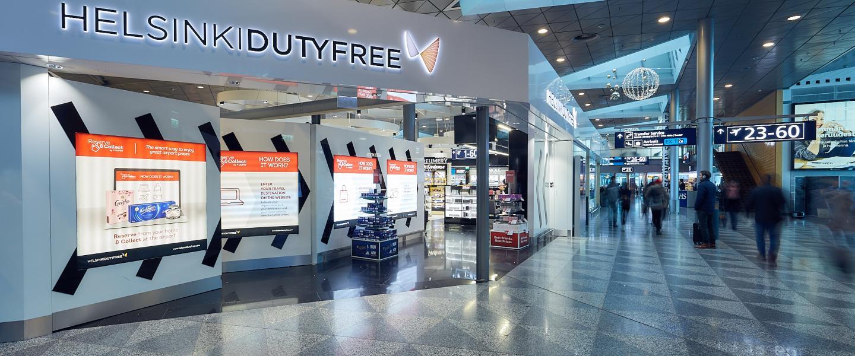 The entrance of Helsinki Duty Free shop eb53a0b42a