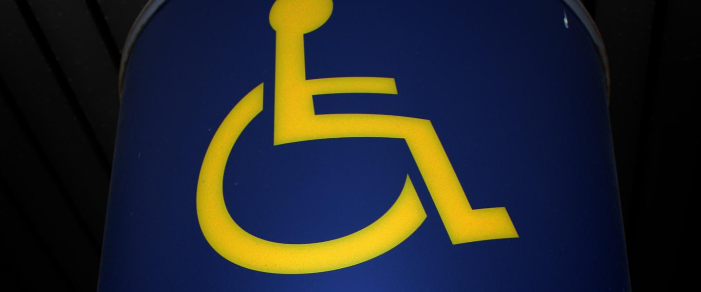 Picture of disabled parking logo