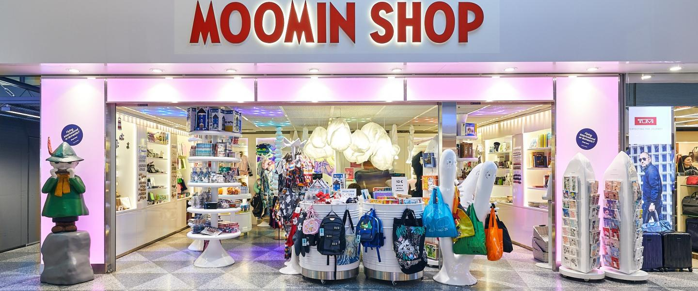 Front of Moomin shop