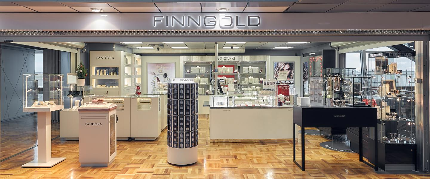The front of Finngold shop
