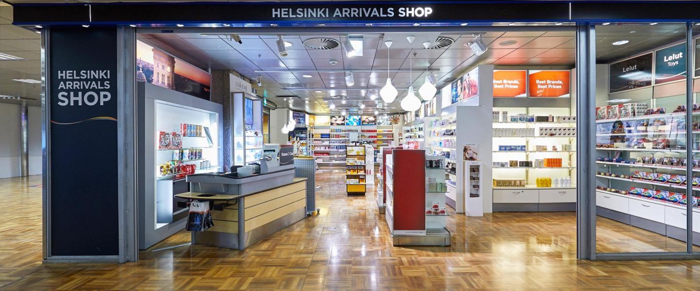 Helsinki Arrivals Shop | Finavia