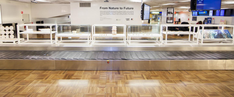 Eco Art Exhibition At Helsinki Airport 1