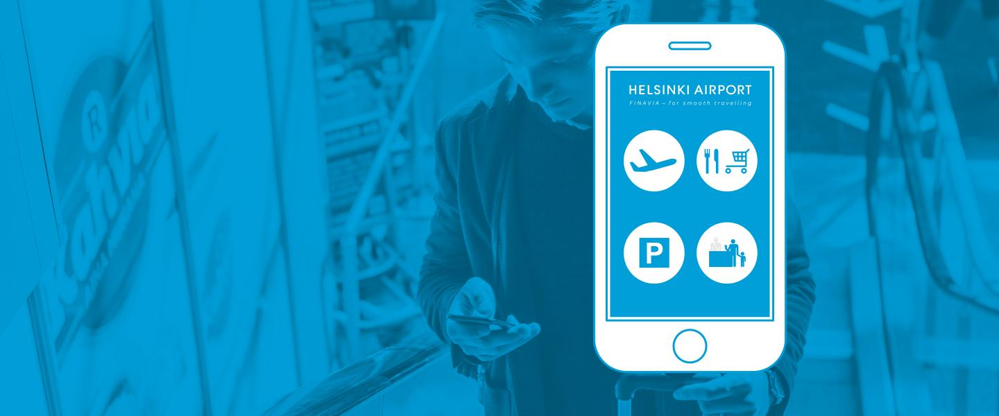 Helsinki Airport -mobile application