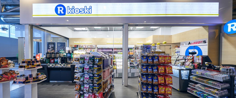 R-kioski (Gate 50 A-M) | Finavia