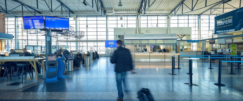Tampere Pirkkala Lentokenttä