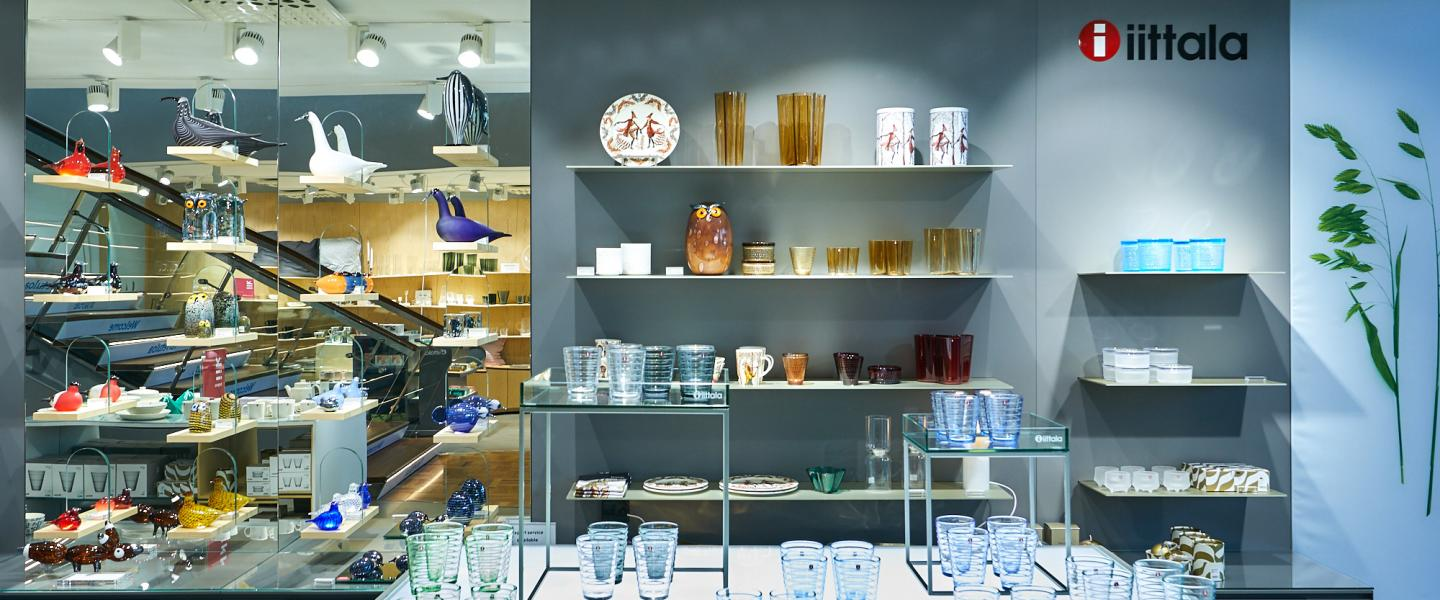 The front of Iittala shop