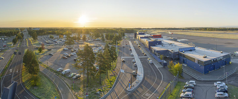 Oulun Lentoaseman Pysakointi Finavia
