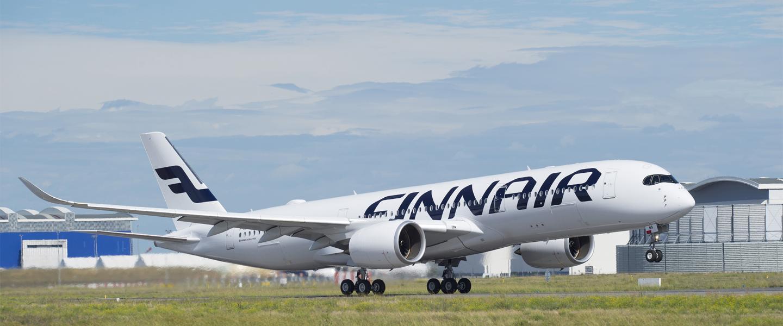 Bongaa Airbus A350 Rovaniemellä marraskuussa!   Finavia