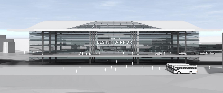 Helsinki-Vantaan vahvuudet säilyvät: lentoasema laajenee yhden katon alla | Finavia