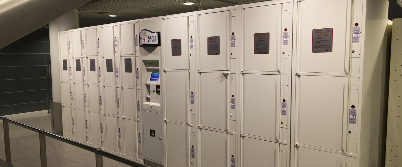 lockers finavia