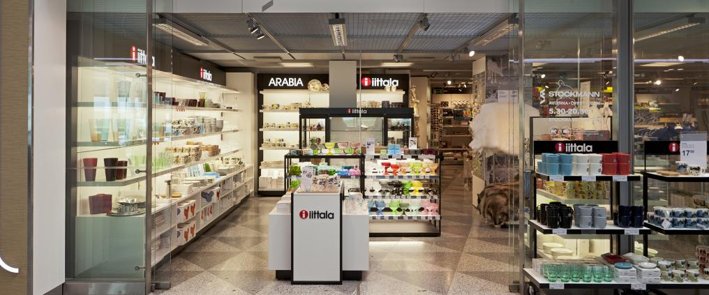A Stockmann store at airport.