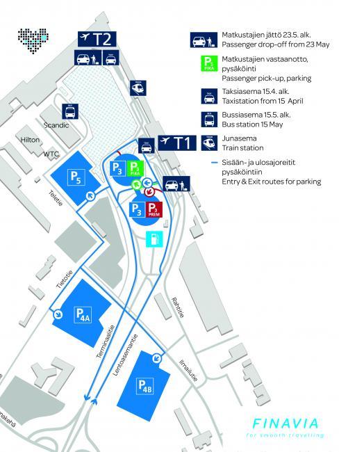 Julkinen Liikenne Lentoasemalla Katso Tasta Kartta Finavia