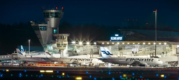 Helsinki Airport Finnair base