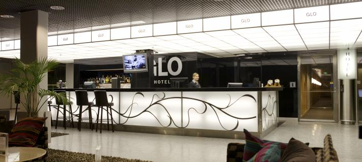Glo Hotel Airportin reception